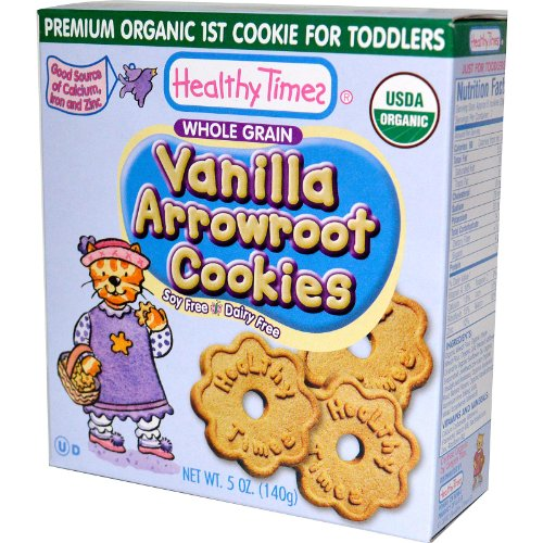 Healthy Times Arrowroot Cookies - Vanilla