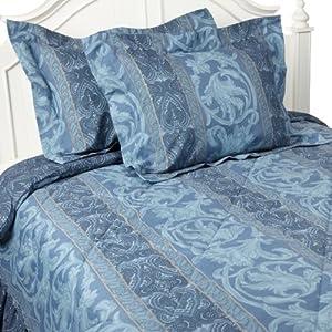 Amazon Com Gabriella Queen Comforter Set Blue Home