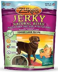Zuke's Jerky Naturals Dog Treats, Tender Lamb Recipe, 6-Ounce