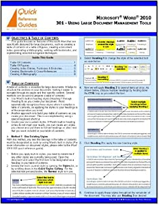 ms word 2010 quick reference guide pdf