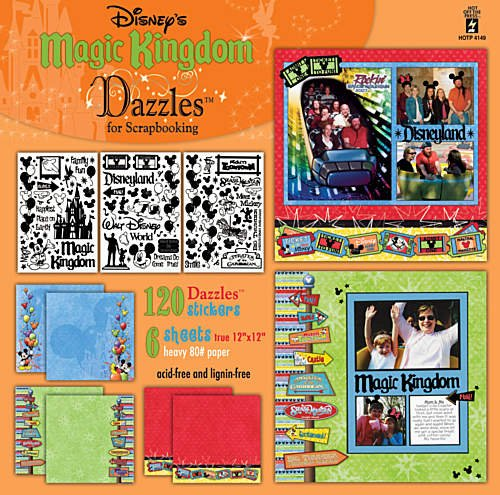 Hot Off The Press - Disney's Magic Kingdom Dazzles for Scrapbooking