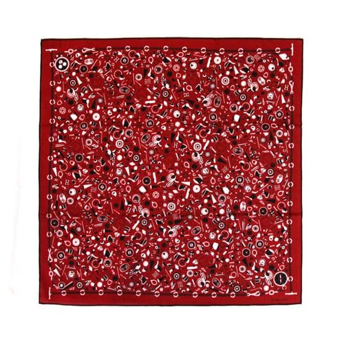 [HERMES]エルメス バンダナ スカーフ FAZZOHE ROUGE 赤 レッド [並行輸入品]