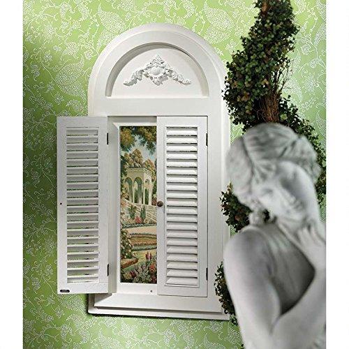 Tuscan Villa Shuttered Arch Mirror