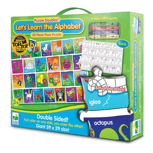 61pNG jnotL Reviews The Learning Journey Puzzle Doubles! Lets Learn the Alphabet