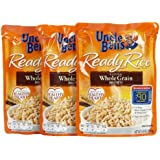 Uncle Ben's Whole Grain Brown Ready Rice Pouch, 8.8 oz, 3 pk
