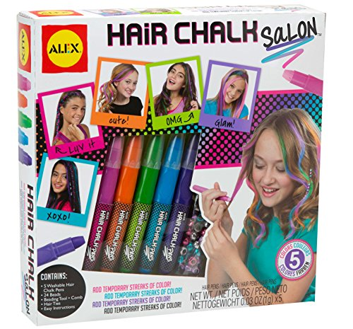 ALEX Toys Spa Hair Chalk Salon Craft Kit