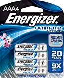 Energizer Ultimate Lithium L92BP-4  AAA Battery 4 count