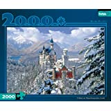 Games Winter At Neuschwanstein Castle 2000Pc Jigsaw Puzzle