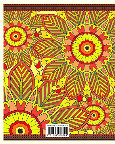 The Stress Relieving Adult Coloring Pages: Fun, Easy & Relaxing Mandala Serie (Vol. 2)
