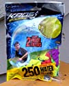 250 ct Biodegradable Latex Water Bombs Balloons Including Filler Nozzle Colors Vary Water Summer…