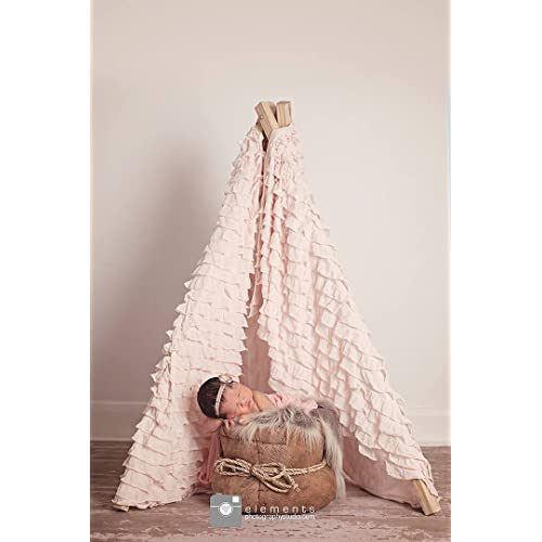 Blush Teepee Material
