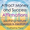 Attract Money and Success with Positive Affirmations: Manifest Wealth with Soothing Nature Hypnosis & Meditation Speech by Joel Thielke Narrated by Catherine Perry