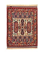 L'EDEN DEL TAPPETO Alfombra Konya Antik Rojo/Multicolor 117 x 150 cm