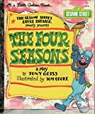 img - for The Four Seasons (Sesame Street) (Little Golden Books) book / textbook / text book