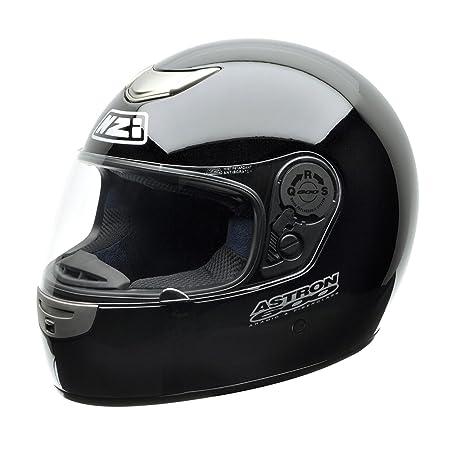 NZI 010173G047 Astron 600 Casque de Moto, Taille M Noir