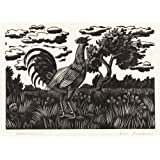 Chanticleer, by Eric Ravilious (Print On Demand)