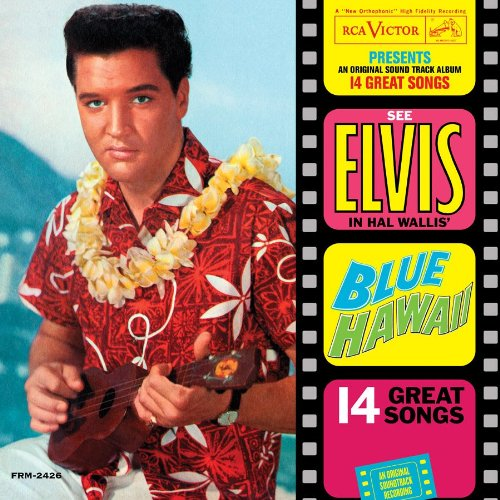 Blue-Hawaii-Analog-Elvis-Presley-LP-Record