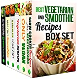 img - for Best Vegetarian and Smoothie Recipes Box Set (6 in 1): Over 200 Budget-Friendly Vegan and Vegetarian Meals, Green Smoothied and Spiralizer Recipes for ... Try (Vegetarian Recipes and Smoothie Detox) book / textbook / text book