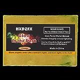 HXDZFX Glow in The Dark Pigment Powder 2 Pack 0.53oz(Orange) UV Powder Safe Non-Toxic for Slime,Nails,Epoxy Resin,Acrylic Paint,Halloween,Fine Art and DIY Crafts (Color: Orange)