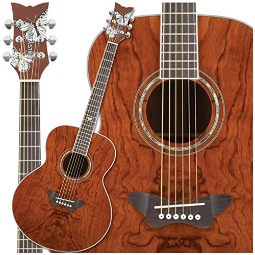 Daisy Rock Butterfly Jumbo Acoustic Electric Guitar