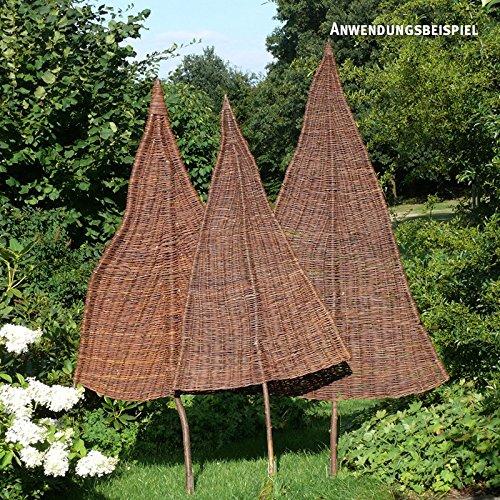 videx sichtschutz weidenbaum natur klein ca b 80cm x h 160cm davon 65cm stamm. Black Bedroom Furniture Sets. Home Design Ideas