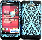 Hybrid Cover Bumper Case for Motorola Droid Razr M (XT907