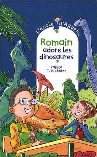 L'Ecole d'Agathe n° 53 Romain adore les dinosaures
