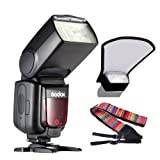Godox Thinklite TT685S TTL Camera Flash speedlite High Speed 1/8000s GN60 for Sony DSLR Cameras + Andoer camera strap
