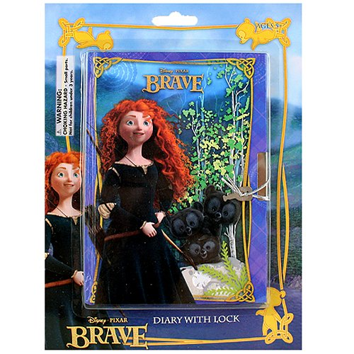 Disney Pixar Brave Diary with Lock