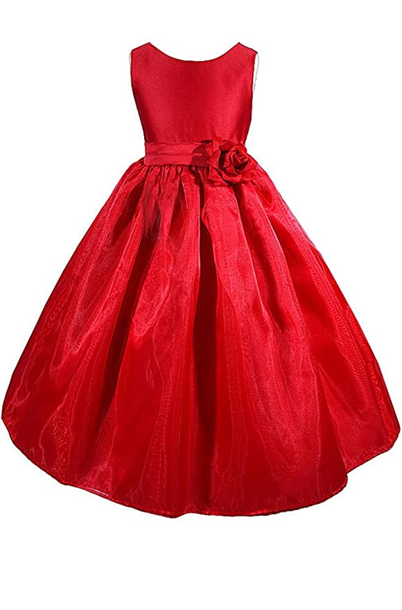 AMJ Dresses Inc Little Girls Wedding Flower Girl Pageant Christmas Dress