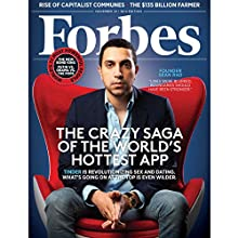 Forbes, November 10, 2014  by Forbes Narrated by Ken Borgers