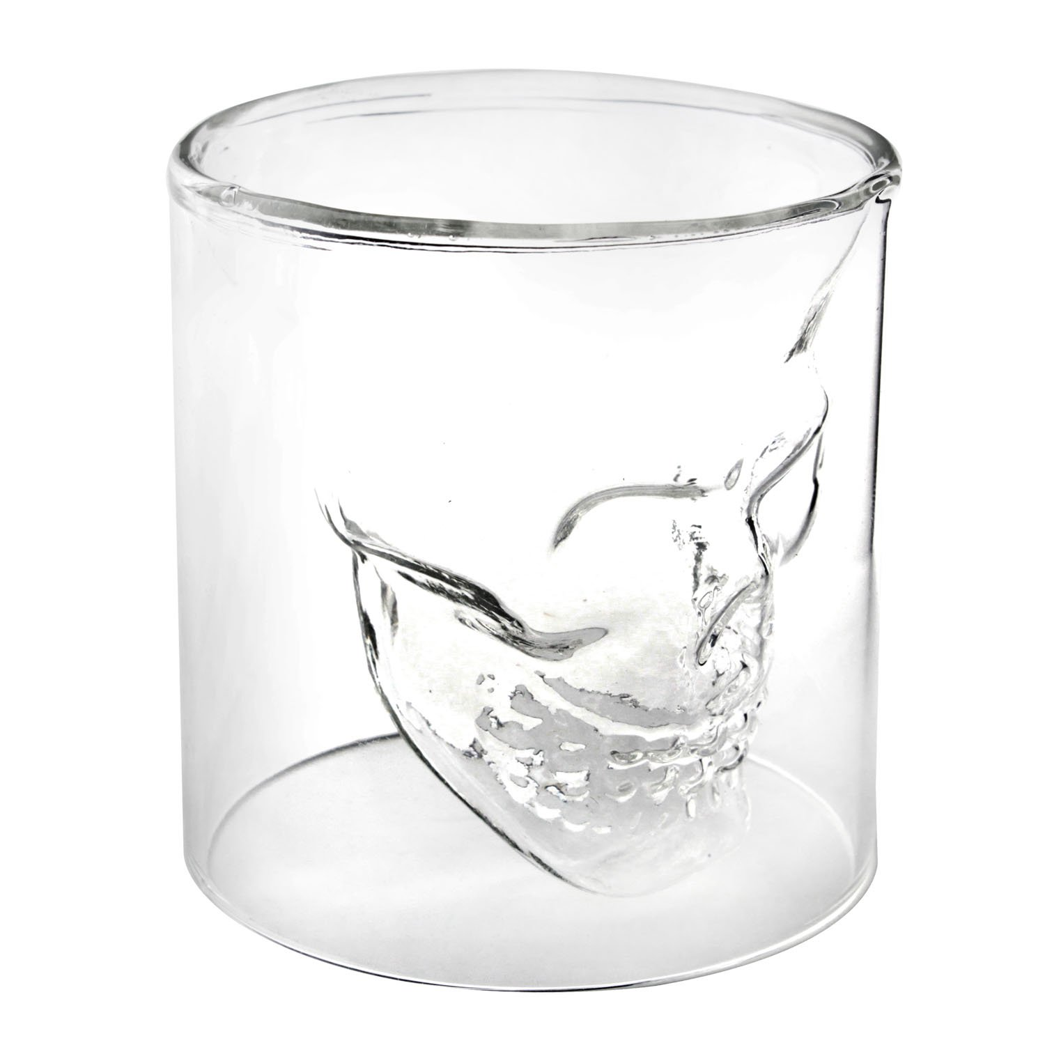 Crystal Skull Pirate Shot Glass