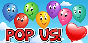 Baby Touch Balloon Pop Game by Kissta Koala