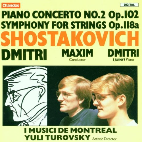 Piano Concerto 2 / Symphony for Strings