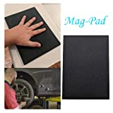 Inverlee Magic Car Pad Mag-Pad Magnetic Pad Holder Tool, Holds Your Tools While Working Repair Tool Magnetic Pad Holding Tools, Screws, Nails, Bolts, Drilling Bits (A) (Color: A, Tamaño: as shown)