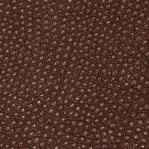 55'' Wide Faux Leather Ostrich Chocolate Fabric By The Yard