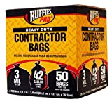61pQUwJuuZL. SL160  Ruffies CCB750 42 Gallon Heavy Duty Contractor Clean Up Bags