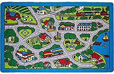 Children Kids Rug Area Rug Non Skid Gel Backing