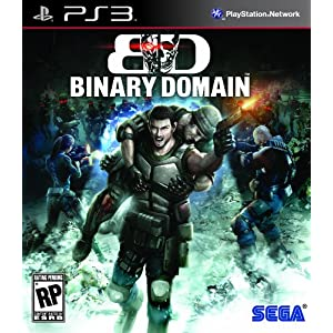 Binary Domain Video Game for PS3