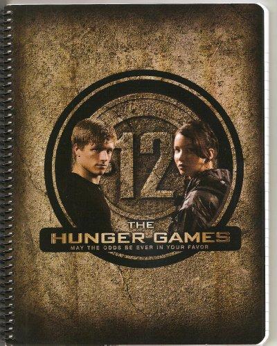The Hunger Games Movie Spiral Notebook - Katniss & Peeta District 12
