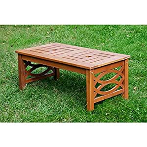 Achla designs hennell coffee table patio for Coffee tables amazon