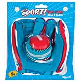 Toysmith Super Sport Easy Catch Ball & Glove Set