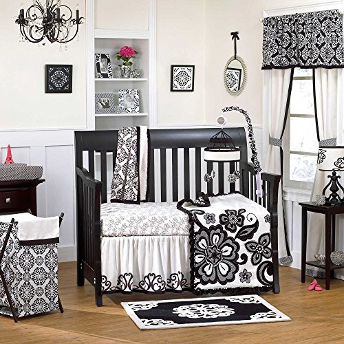 Elegant Elsa Piece Baby Crib Bedding Set with Bumper by Cocalo Couture