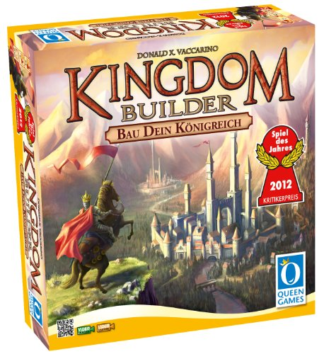 Queen Games 6083 – Kingdom Builder, Spiel des Jahres 2012