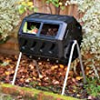 Yimby Tumbler Composter, Color Black by Forest City Models and Patterns