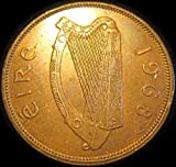 St. Pat's Irish Hen With Chicks Coin - 1968 Penny - Large Coin