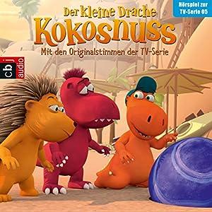 Der Glücksstein / Sicher ist sicher / Der Hornochse / Ein perfekter Ort (Der Kleine Drache Kokosnuss - Hörspiel zur Serie 5) Hörspiel