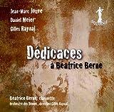 echange, troc  - Dédicaces A Béatrice Berne