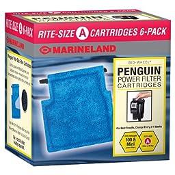 Marineland Rite-Size Cartridge A, 6-Pack