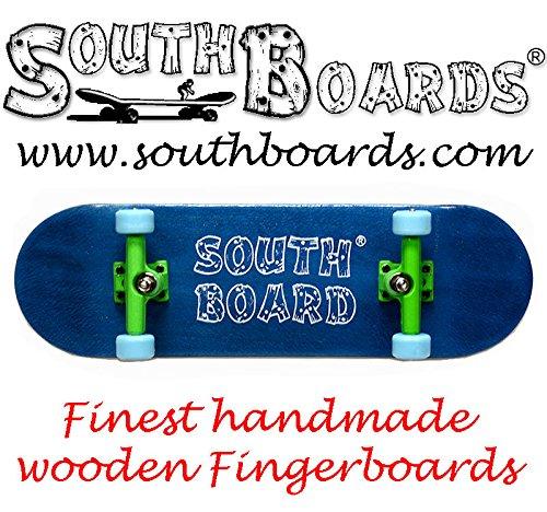 komplett fingerskateboard bl gr bl southbo ein original. Black Bedroom Furniture Sets. Home Design Ideas